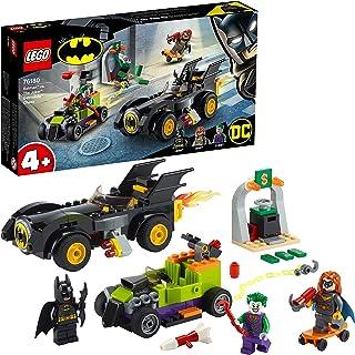 LEGO 76180 DC Batman vs. The Joker: Batmobile Chase & Hot Rod, Superhero Toy Cars Set for Kids Age 4 + Years Old