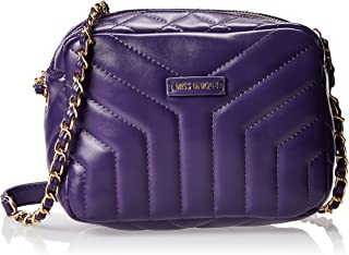 Zeneve London Womens Crossbody Bag, Purple - 1191830612