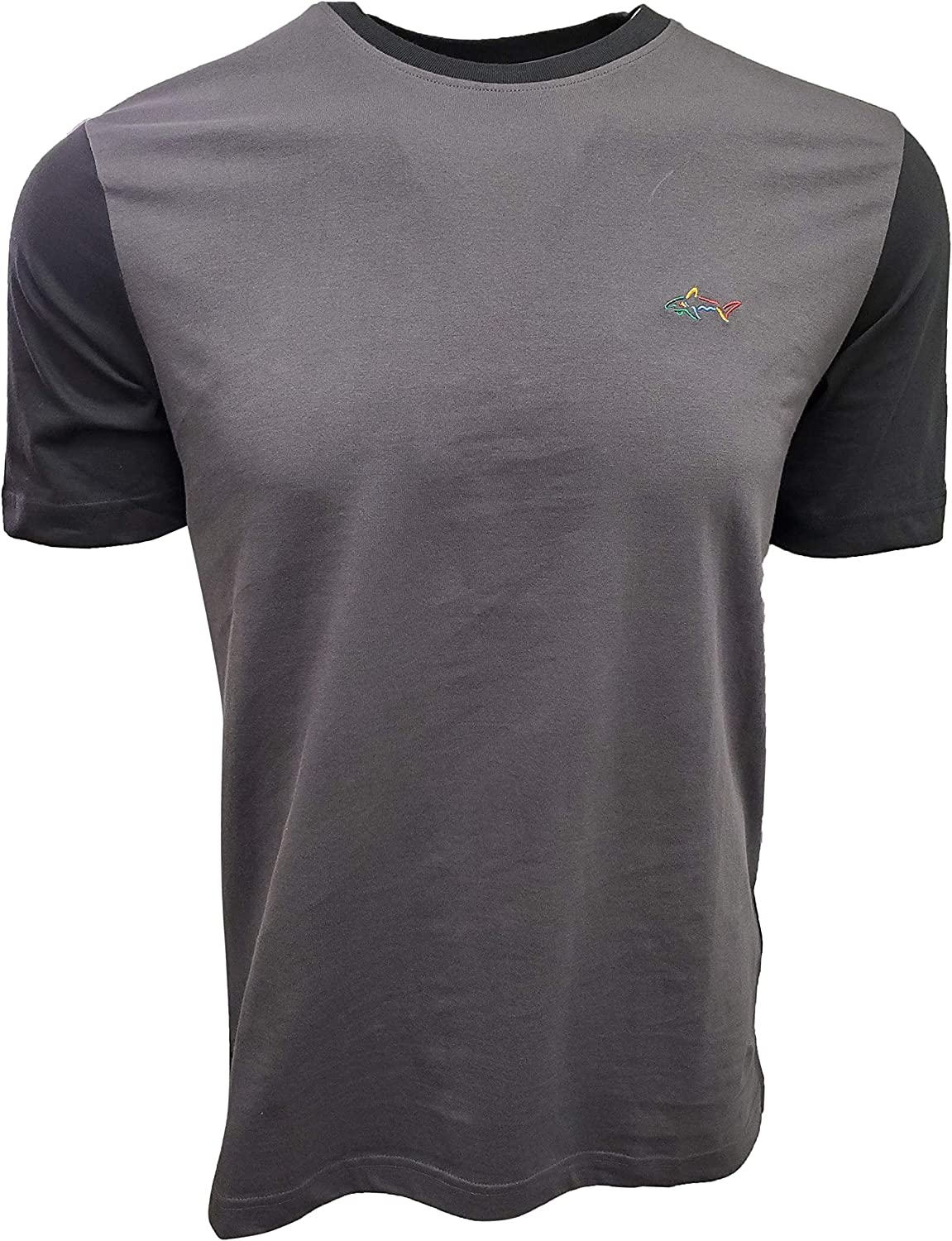 Greg Norman Men's 2021 New product! New type spring and summer new Crew-Neck T-Shirt