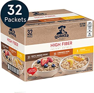 high fiber low sugar oatmeal