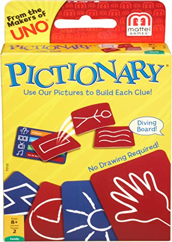 Mattel Pictionary Card Game product image