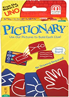 Mattel Games Pictionary Card Game