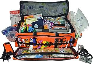 Lightning X Jumbo Oxygen Medic First Responder EMT/EMS Bag Stocked Trauma Kit LXMB50-SKD