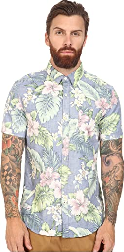 7 Diamonds - Land of Flowers Short Sleeve Shirt