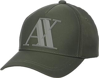 A|X Armani Exchange Men's Rubber Logo Hat