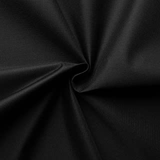 aktivstoffe Carry - Lona Impermeable - 100% poliéster - 21 Colores - por Metro (Negro)