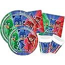 230 Piezas PJ Masks Fiesta Decoración Para 20 Invitados ...