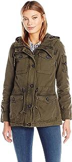 Levi's Women's Cotton Four Pocket Hooded Field Jacket