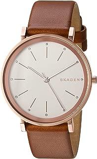 Skagen SKW2488 - Reloj de pulsera para mujer (piel), color café claro