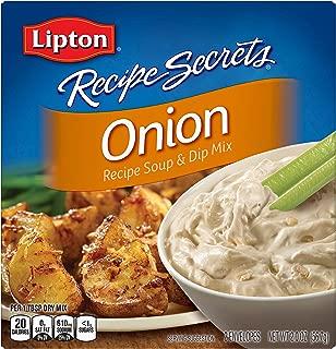 Lipton Recipe Secrets Soup and Dip Mix, Onion Flavor, 2 oz 6 Count