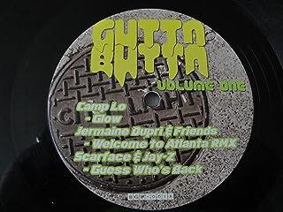 "Gutta Butta Volume One 12"" Vinyl BGW-001 Camp Lo Jermaine Dupri Scarface & Jay-Z Foxy Brown Ludacris & Mystikal Jalib Kwell"