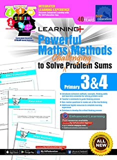 Learning + Powerful Maths Methods to Solve Challenging Problem Sums Primary 3 and 4