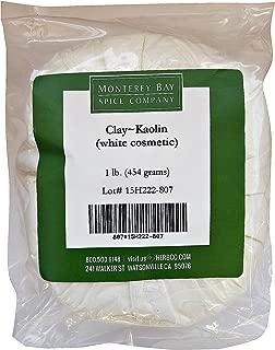 KAOLIN CLAY White Cosmetic NATURAL POWDER 1 LB Facial Mask Spot Treatments (1 -16 oz Bag)