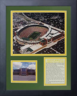 Legends Never Die Green Bay Packers New Lambeau Field Framed Photo Collage, 11x14-Inch