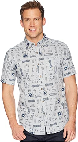 Royal Robbins Base Camp Print Short Sleeve Shirt