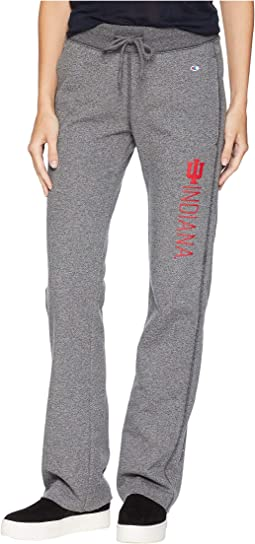 Indiana Hoosiers University Fleece Open Bottom Pants