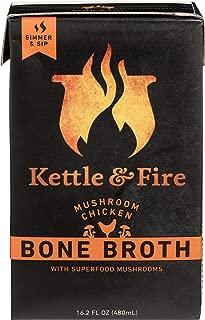 Kettle & Fire, Bone Broth Mushroom Chicken, 16.2 Fl Oz