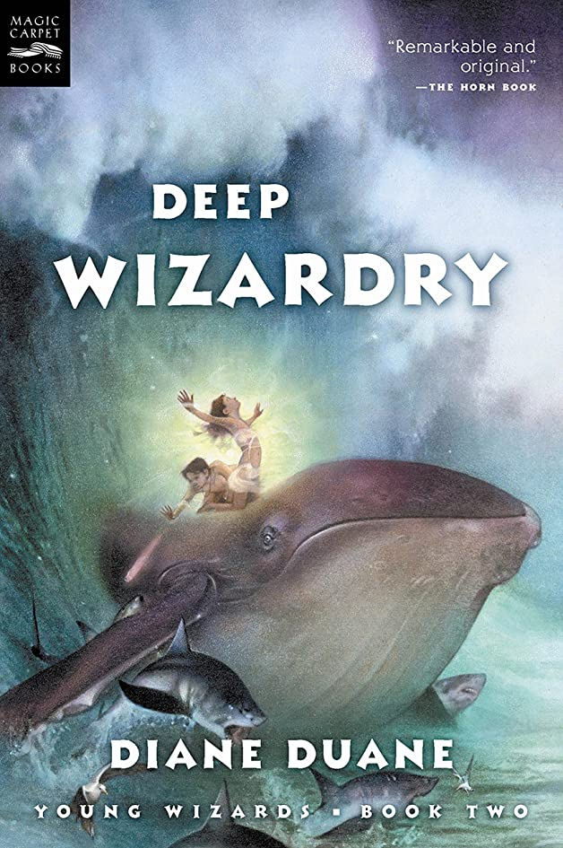 主流保証するフラスコDeep Wizardry (Young Wizards Series Book 2) (English Edition)