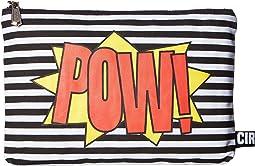 Pow Bam/Black/White Stripe