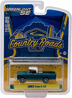 Greenlight 1963 Dodge D-100 w/ Toolbox Country Roads Series 14 2016 Collectibles 1:64 Scale Die-Cast Vehicle