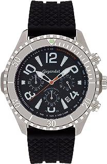 1fcc1846b0 Gigandet Aquazone Orologio da Uomo Quarzo Cronografo Analogico Data Nero  G23-002