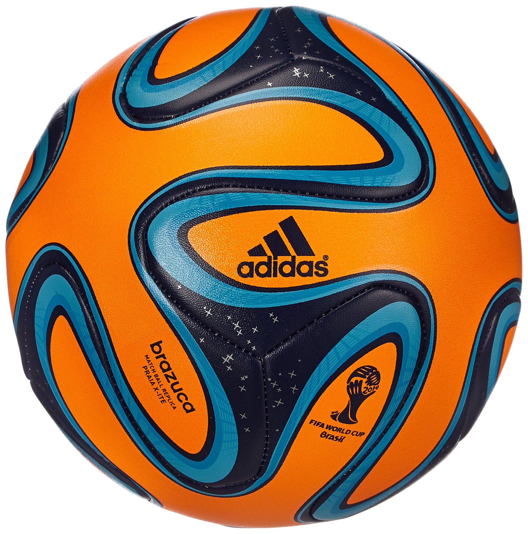 adidas Brazuca Praia X-Ite - Balón de fútbol de competición, color ...