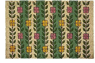Entryways Victoria and Albert Museum Espalier Coir Doormat, Natural, 60 x 90
