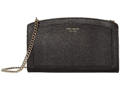 Kate Spade New York Margaux East/West Crossbody (Black) Cross Body Handbags