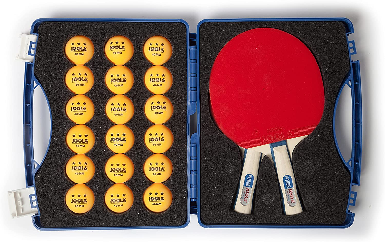 Challenge the lowest Charlotte Mall price of Japan ☆ JOOLA Tour Carrying Case - Ping Pong Paddle 40mm 18 3 with