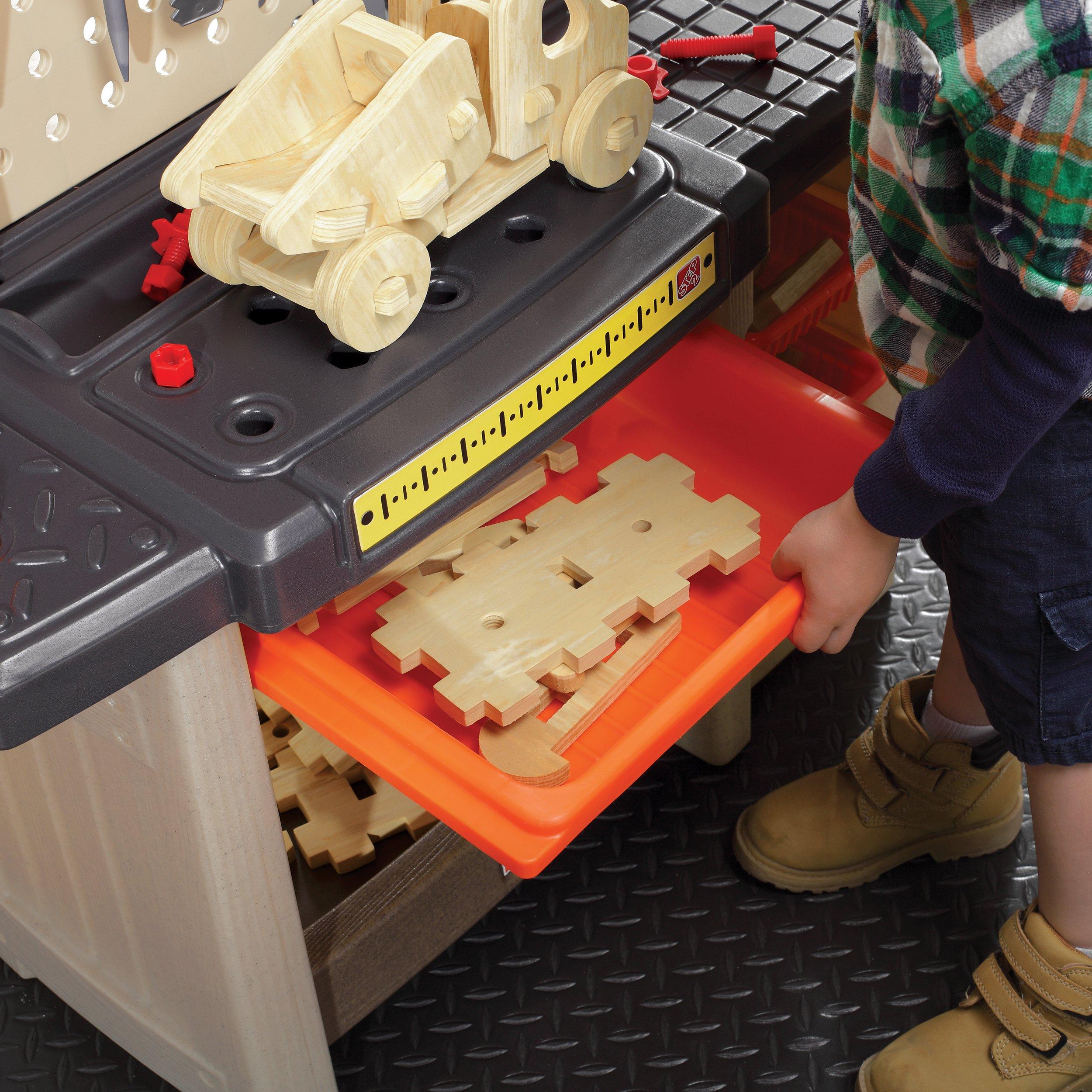 Step2 Handyman Workbench Kids Tool Bench Orange Amazon Sg Toys Games