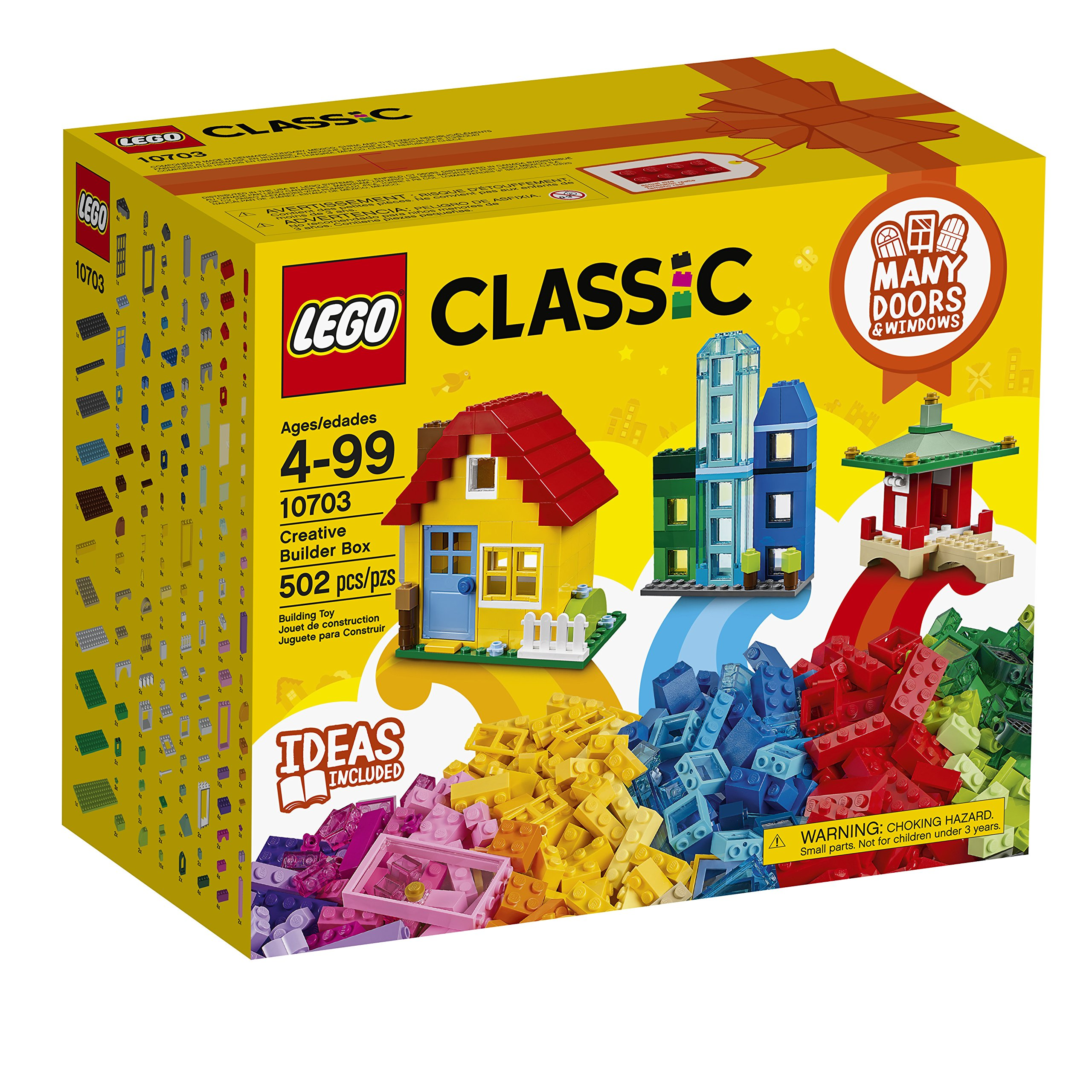 LEGO Classic Creative Builder Box 10703 (Exclusivo): Amazon.es: Juguetes y juegos