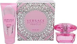 Versace Bright Crystal Absolu Gift Set 1.7oz (50ml) EDP + 3.4oz (100ml) Body Lotion