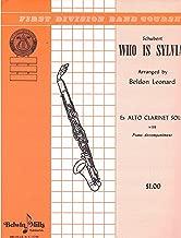 Who is Sylvia? - Eb Alto Clarinet Solo with Piano Accompaniment