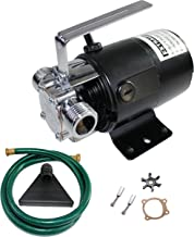 EXTRAUP 115Volt 330 GPH Portable Low Suction Electric Water Transfer Removal Utility Pump..