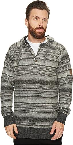 VISSLA - Viajero Pullover Henley Fleece Top