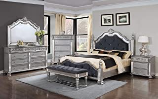Best king bedroom sets wood Reviews