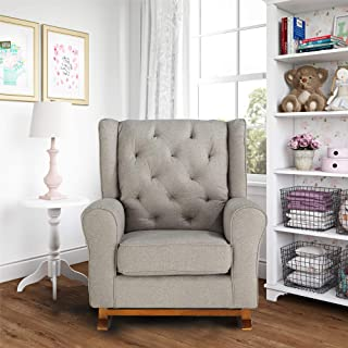 Baby Relax April Rocking Chairs, Pewter