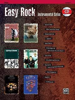 Easy Rock Instrumental Solos, Level 1: Flute, Book & CD (Easy Instrumental Solos Series)
