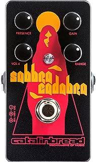Catalinbread Sabbra Cadabra Boost Overdrive Guitar Effects Pedal
