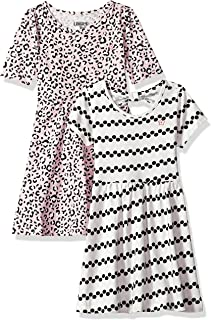 فستان للفتيات الصغيرات من Limited Too (يتوفر المزيد من الأنماط)