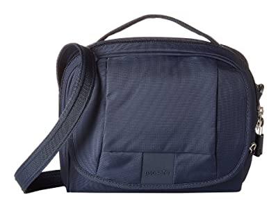 Pacsafe Metrosafe LS140 Anti-Theft Compact Shoulder Bag (Deep Navy) Cross Body Handbags