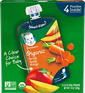 Gerber Purees Organic Foods Carrot