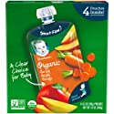 Gerber Purees Organic 2nd Foods Baby Food, Carrot Apple Mango, 14 Oz, 4 Ct