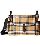 Burberry Kids - Flap Diaper Bag
