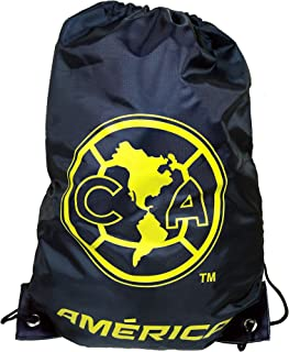 RHINOXGROUP CA Club America Authentic Official Licensed Soccer Drawstring Cinch Bag 01