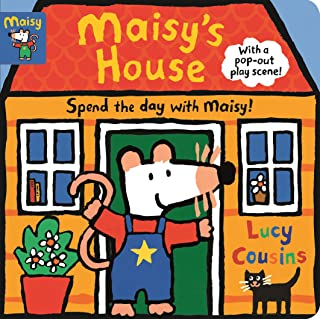 Maisy's House: Complete with Durable Play Scene: A Fold-Out and Play Book