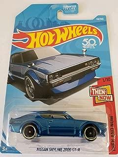 Hot Wheels 2018 50th Anniversary Nissan Skyline 2000 GT-R 118/365, Blue