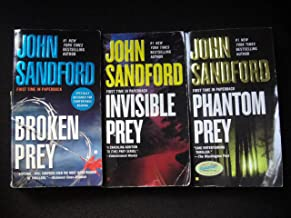 John Sandford 3 Book Set (Lucas Davenport Prey Series: Broken Prey+Invisible Prey+Phantom Prey)