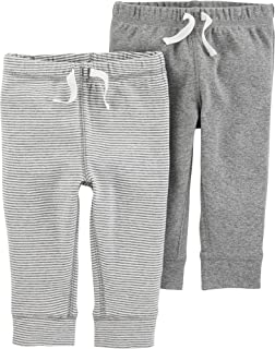 Baby Boys 2-Pack Pull-On Pants