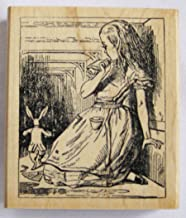 Nature's Blessings Fine Art Stamps, Alice in Wonderland White Rabbit